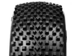 "Buggy tires ""Block"", Pink compound"