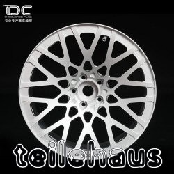 "Aluminum Rims ""BLQ"", silver (-3 mm) for touring cars"
