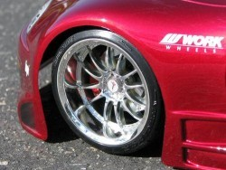 "Chromed rims ""Work XSA 02 C"" for touring cars (3mm offset)"