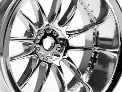 "Chromed rims ""Work XSA 02 C"" for touring cars (9mm offset)"