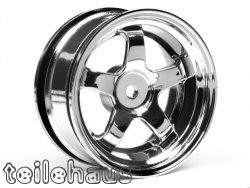 "Chromed rims ""Work Meister S1"" for touring cars (3mm offset)"