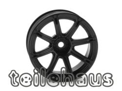 "Rims ""Work Emotion XC8"", black for touring cars (9mm offset)"