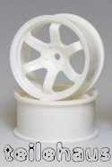 "Rims ""Slide Master TE-37R"", White for Touring Cars (+7 mm)"