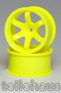 "Rims ""Slide Master TE-37R"", Fluorescent Yellow (+10 mm)"