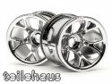 "Chromed rims ""MT Mesh"" for Monster/Stadium Trucks"