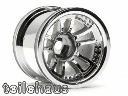 Chromed 5 spoke split rims for Monster/Stadium Trucks
