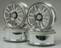 "Chromed Rims ""Double Spoke"" for buggies"