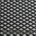 3D Grill Decal, Silver, Cross Mesh Heavy