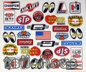 "Decal ""Vintage Racing"""