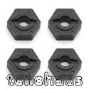 12 mm Molded Carbon Wheel Hex Adapters