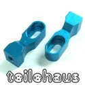 Alloy Servo Mount, Blue For 1/10 & 1/8