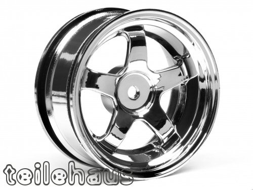 "Chromed rims ""Work Meister S1"" for touring cars (3mm offset) - Click Image to Close"