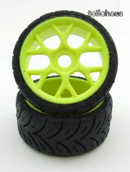 Low Profile Tires on Mesh Rims