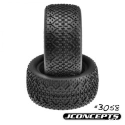 "Buggy Rear Tires ""3Ds"", Orange Compound"