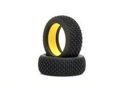 "Buggy Tires ""Double Cross"", Yellow Compound"