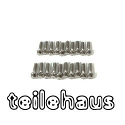 M2.5x8 mm Scale Hex bolts