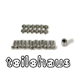 M2.5x8 mm Scale Hex bolts with Nuts
