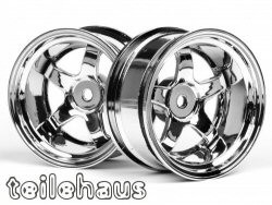 "Chromed rims ""Work Meister S1"" for touring cars (9mm offset)"