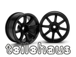 "Rims ""Work Emotion XC8"", black for touring cars (6mm offset)"
