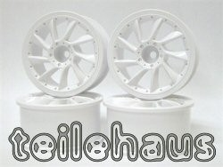 "Rims ""L Type"", White For Touring Cars (9 mm Offset)"