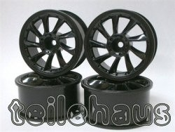 "Rims ""L Type"", Black For Touring Cars (3 mm Offset)"