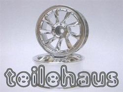 "Chromed Rims ""L Type"" for touring cars (9 mm offset)"