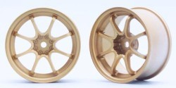 "Chromed Rims ""Rays Volk Racing CE-28N"" for Touring Cars (4 mm)"
