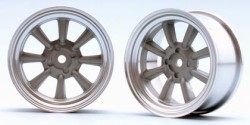 "Chromed Rims ""RS Watanabe"" for Touring Cars (4 mm)"