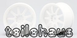 "Rims ""Work Emotion XD9"", White for Touring Cars (4 mm)"