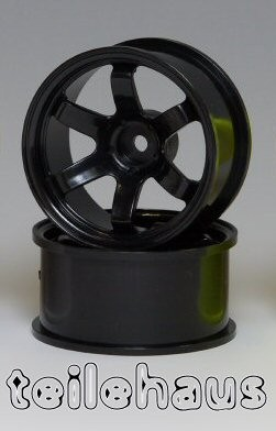 "Rims ""Slide Master TE-37R"", Black for Touring Cars (+10 mm)"