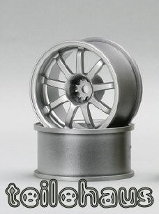 "Rims ""Slide Master D9"", Silver for Touring Cars (+7 mm)"