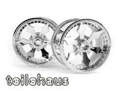 "Chromed Rims ""Spike"" for monster trucks"